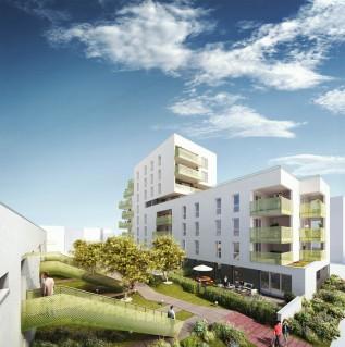 Programme immobilier neuf Rennes - Le Jardin des Sens - Loi Pinel, Residence Principale