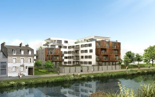 Programme immobilier neuf Rennes - FLUVIA - Loi Pinel, Residence Principale
