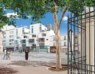 Programme immobilier neuf Paris 13 - Cubism' - Residence Principale - Investir en immobilier neuf Paris 13