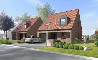 Programme immobilier neuf Fournes en Weppes - Domaine du Chemin Vert - Residence Principale