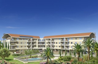 Programme immobilier neuf Pégomas - Fleur d'Azur - Statut LMP, Statut LMNP, Loi Censi-Bouvard