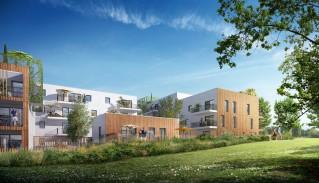 Programme immobilier neuf Nantes - Le Domaine de l Erdre - Loi Pinel, Residence Principale