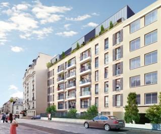 Programme immobilier neuf Boulogne Billancourt - Jardin des Princes - Loi Pinel, Residence Principale