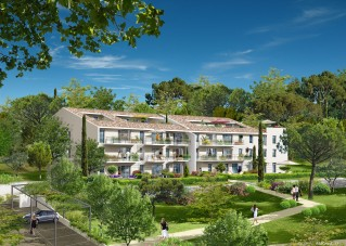 Programme immobilier neuf Luynes - Villa des Grands Pins - Loi Pinel, Residence Principale