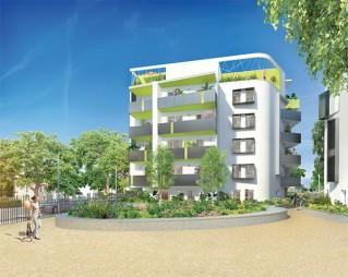 Programme immobilier neuf Seyssinet Pariset - Au Fil d un Jardin - Loi Pinel, Residence Principale