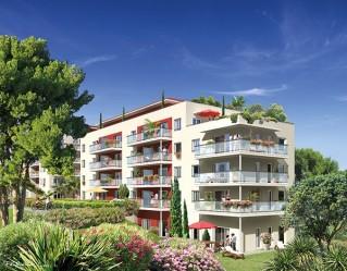 Programme immobilier neuf Antibes - Garden Avenue - Loi Pinel, Residence Principale - Investir en immobilier neuf Antibes