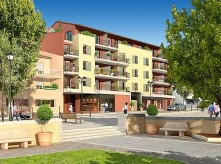 Programme immobilier neuf Cantaron - Couleur Village - Loi Pinel, Residence Principale - Investir en immobilier neuf Cantaron