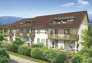 Programme immobilier neuf Neydens - Esquisse Leman - Loi Pinel, Residence Principale