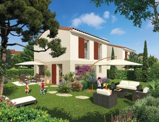 Programme immobilier neuf Ollières - Mosaique Provence - Residence Principale
