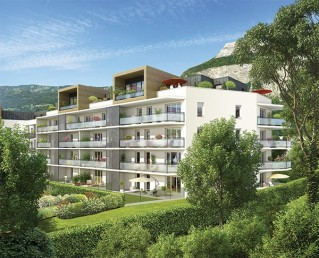 Programme immobilier neuf Meylan - Greenside - Loi Pinel, Residence Principale
