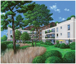 Programme immobilier neuf Bussy Saint Georges - Bussy Village - Loi Pinel, Residence Principale - Investir en immobilier neuf Bussy Saint Georges