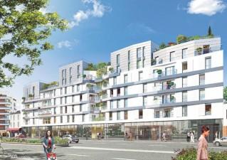 Programme immobilier neuf Saint Ouen - Belharra - Loi Pinel, Residence Principale - Investir en immobilier neuf Saint Ouen
