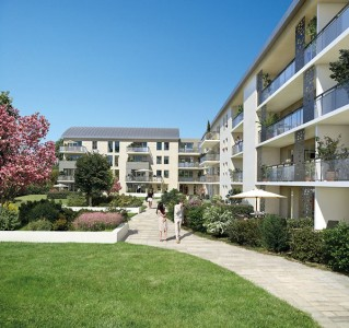 Programme immobilier neuf Blagnac - Fenêtres sur Jardins - Loi Pinel, Residence Principale