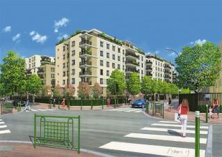 Programme immobilier neuf Suresnes - Eclat de Seine - Loi Pinel, Residence Principale - Investir en immobilier neuf Suresnes