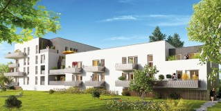 Programme immobilier neuf Nantes - City Side - Loi Pinel, Residence Principale - Investir en immobilier neuf Nantes