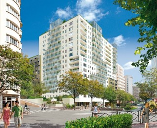 Programme immobilier neuf Courbevoie - Sky - Loi Pinel, Residence Principale - Investir en immobilier neuf Courbevoie