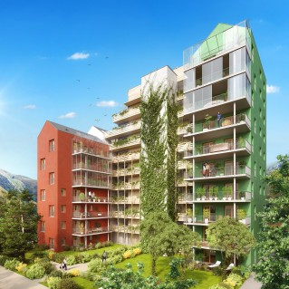 Programme immobilier neuf Grenoble - Up - Loi Pinel, Residence Principale