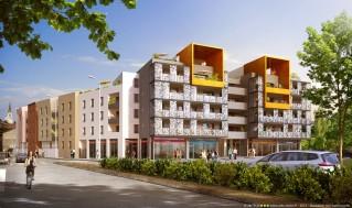 Programme immobilier neuf Rillieux la Pape - L'Avant-Scène - Loi Pinel, Residence Principale