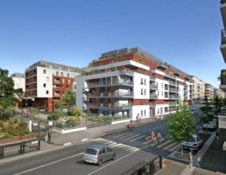 Programme immobilier neuf Cachan - La Promenade - Loi Pinel, Residence Principale - Investir en immobilier neuf Cachan