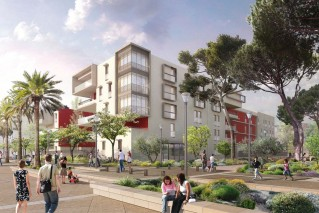 Programme immobilier neuf Fréjus - Le NewPort - Loi Pinel, Residence Principale
