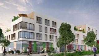 Programme immobilier neuf Cergy - Le Parc des Closbilles Carré Vert  et  Carré Nature - Loi Pinel, Residence Principale