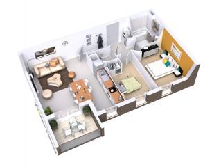 Programme immobilier neuf Villefranche sur Saône - Le Promenoir - Loi Pinel, Residence Principale