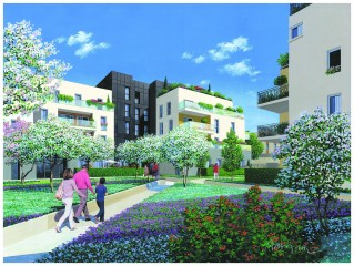 Programme immobilier neuf Aubervilliers - Le Temps Libre - Loi Pinel, Residence Principale