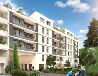 Programme immobilier neuf Clermont Ferrand - LES PATIOS D'OR BAT B et C/ LES JARDINS DE LA MONTAGNE BAT A DE CLERMONT FERRAND - Loi Pinel, Residence Principale - Investir en immobilier neuf Clermont Ferrand