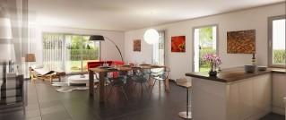 Programme immobilier neuf Villeneuve d'Ascq - Les villas du Recueil - Loi Pinel, Residence Principale