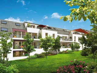 Programme immobilier neuf Nantes - Lumine et Cens - Loi Pinel, Residence Principale - Investir en immobilier neuf Nantes