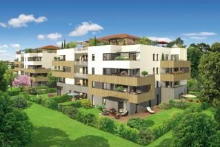 Programme immobilier neuf Écully - Parfum de Cèdre - Loi Pinel, Residence Principale - Investir en immobilier neuf Écully