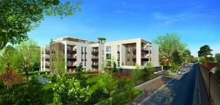Programme immobilier neuf Lyon - Patio Valdo - Loi Pinel, Residence Principale - Investir en immobilier neuf Lyon