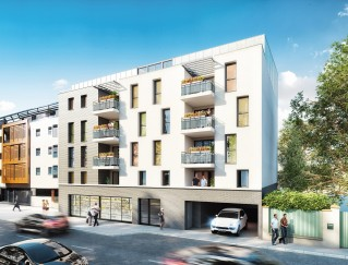Programme immobilier neuf Toulouse - Pastels des Demoiselles - Loi Pinel, Residence Principale