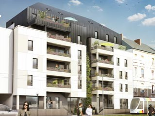 Programme immobilier neuf Angers - Maine avenue - Loi Pinel, Residence Principale