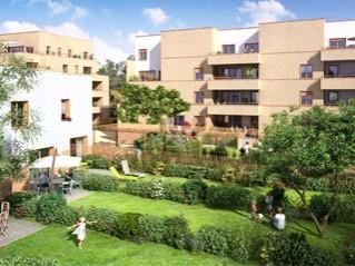 Programme immobilier neuf Vandœuvre lès Nancy - Arbor  et  sens - Residence Principale
