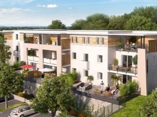 Programme immobilier neuf Villeneuve lès Avignon - Aquarelle - Loi Pinel, Residence Principale
