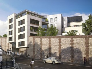 Programme immobilier neuf Rouen - Terrasses sainte marie - Loi Pinel, Residence Principale - Investir en immobilier neuf Rouen