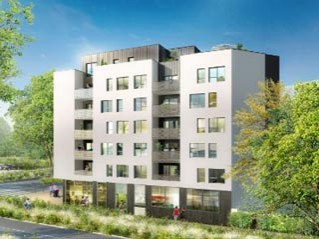 Programme immobilier neuf Villeurbanne - Le patio galilee - Loi Pinel, Residence Principale