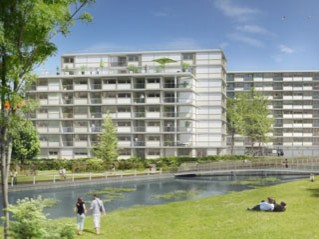 Programme immobilier neuf Bordeaux - Lago - ginko - Residence Principale
