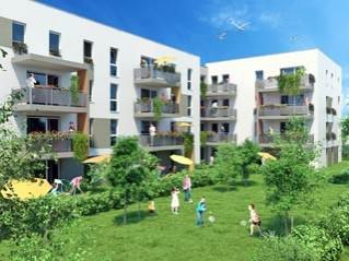Programme immobilier neuf Strasbourg - Vert  et  sens - Loi Pinel, Residence Principale - Investir en immobilier neuf Strasbourg