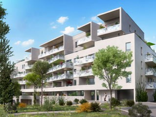Programme immobilier neuf Montpellier - Le bijou de manon - Loi Pinel, Residence Principale - Investir en immobilier neuf Montpellier