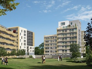 Programme immobilier neuf Saint Étienne - Urban park - Loi Pinel, Residence Principale
