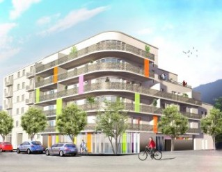 Programme immobilier neuf Grenoble - L'Origami - Residence Principale