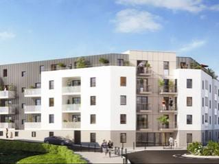 Programme immobilier neuf Nantes - Carre bouchaud - Loi Pinel, Residence Principale - Investir en immobilier neuf Nantes