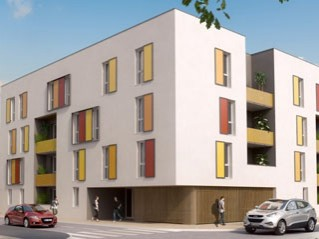 Programme immobilier neuf Tours - Eole - Loi Pinel, Residence Principale