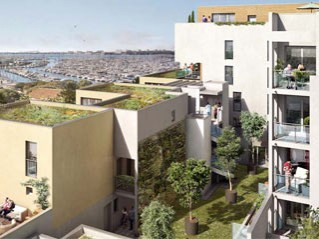 Programme immobilier neuf Rochelle - La grand'voile - Loi Pinel, Residence Principale