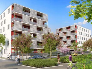 Programme immobilier neuf Lormont - Le triptyk - Loi Pinel, Residence Principale
