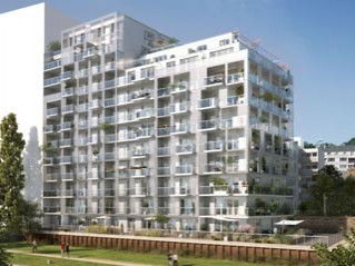 Programme immobilier neuf Rennes - Quai cristal - Loi Pinel, Residence Principale