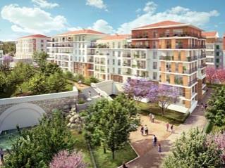 Programme immobilier neuf Toulon - Font-pré les jardins de gaïa/la source de jade - Loi Pinel, Residence Principale