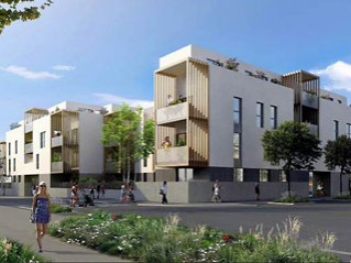 Programme immobilier neuf Sathonay Camp - Equilibre - Loi Pinel, Residence Principale - Investir en immobilier neuf Sathonay Camp